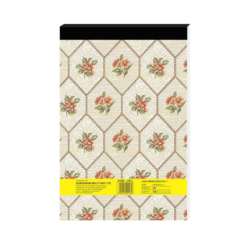Sundaram Shivam Cash Memo Book - 1 No.(CM-3)
