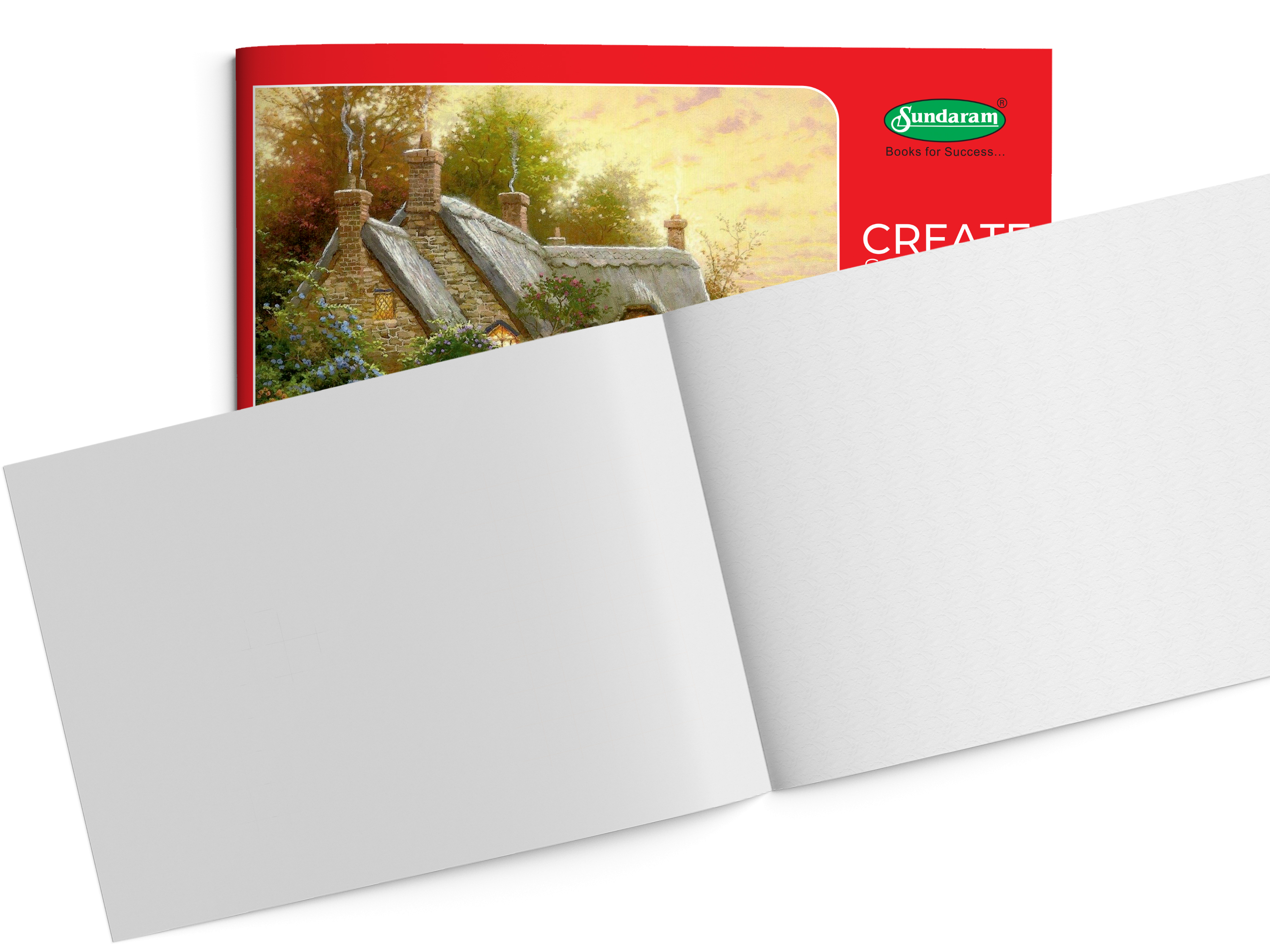 Sundaram Drawing Book - 3A (Red) - 36 Pages (D-3)