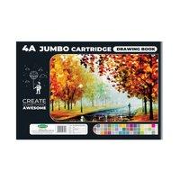 Sundaram Drawing Book - 4A Jumbo (Black) - 56 Pages (D-2)