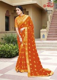 Pure chiffon sarees