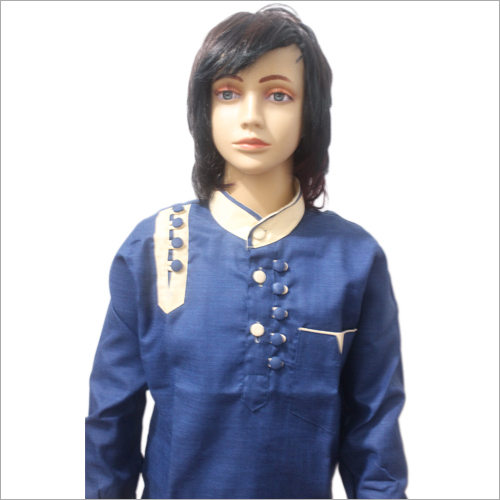 Lucknowi Loop Style Chinese Pathani Set Colour Set