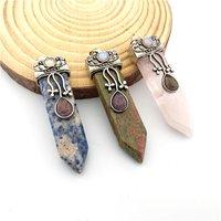 Natural Stone Cabochons Pendant
