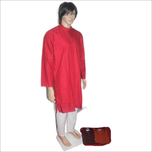 Men Lucknowi Soft Cotton Kurta