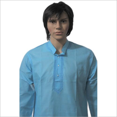Men Lucknowi Pc Fabric Kurta