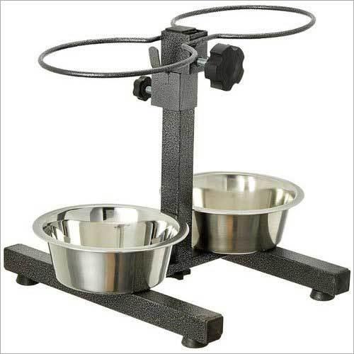 H Type Adjustable Feeding Dog Bowl