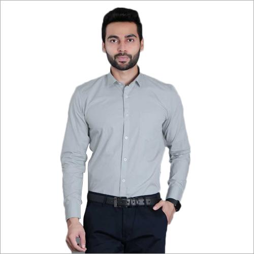 Mens Grey Color Shirt