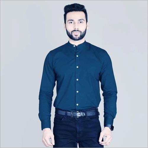 Mens Royal Blue Color Shirt