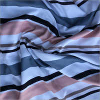 Three Layer Pattern Digital Printed Rayon Fabric