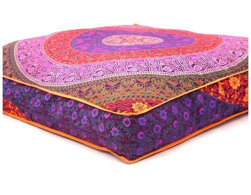 Indian Floor Pillow Meditation Cushion|