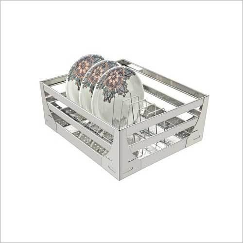 SS Rectangular Plate Basket