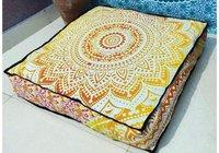 decorative Mandala  cushion cover,