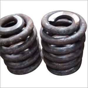 Conical Hot Coil Spring