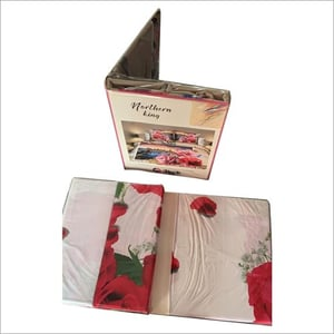 Floral Printed Polycotton Bed Sheet