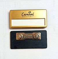 Reusable Magnetic Name Badges