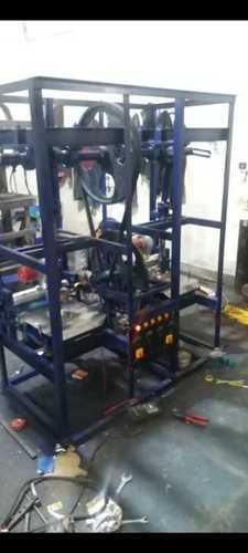Double roll automatic dona making machine