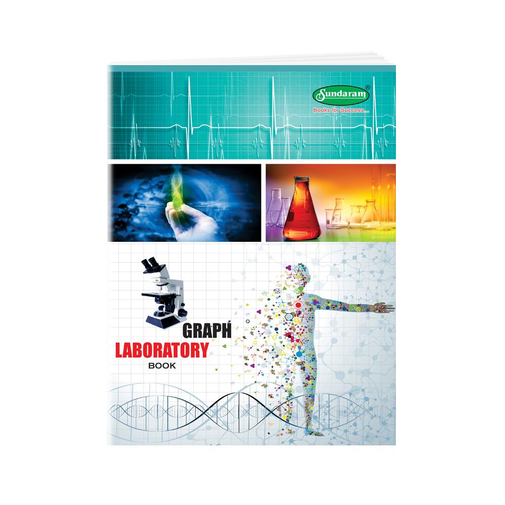 Sundaram Laboratory Book - Big (Graph) - 170 Pages(P-4G)