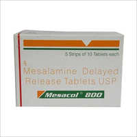 800 mg Mesalamine Delayed Release Tablets