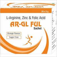 L-Arginine, Zinc & Folic Acid