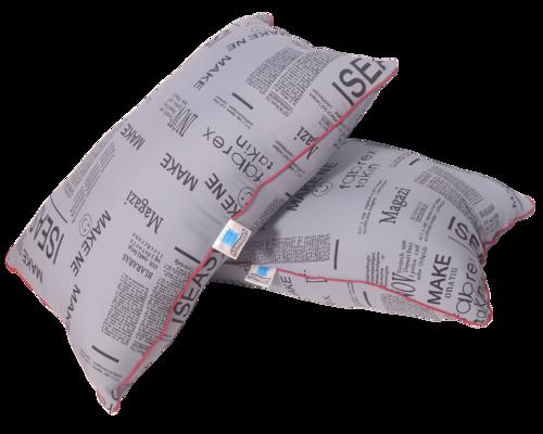 Newspaper Design Pillow