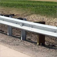 Galvanized Iron Highway Safety W Beam Crash Barrier