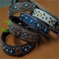 Designer Leather Pet Collars