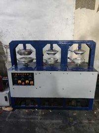 Three Die Areca Plate Machine