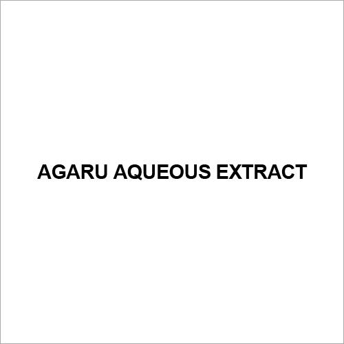 Agaru Aqueous Extract