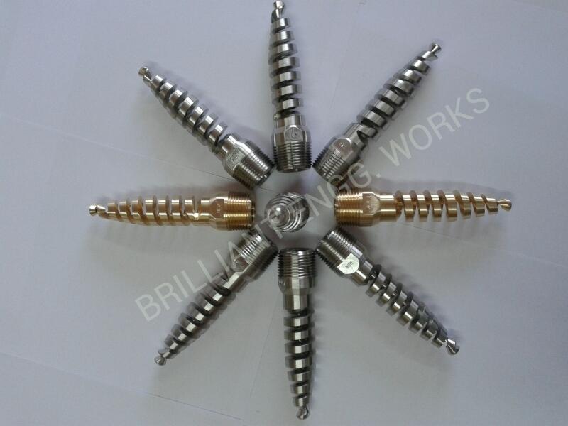 Vessel   Cleaner Spiral Nozzle