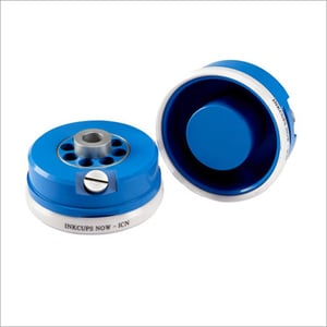 120mm Ink Cups And Rings For Tag Less Printing Machine