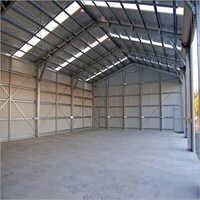 Industrial Mild Steel Storage Shed