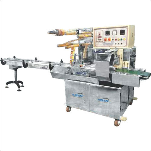 Industrial Mechanical Horizontal Flow Wrap Machine