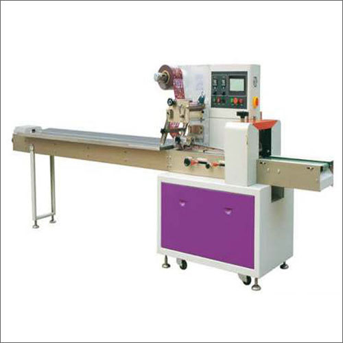 Industrial Horizontal Flow Wrap High Speed Machine