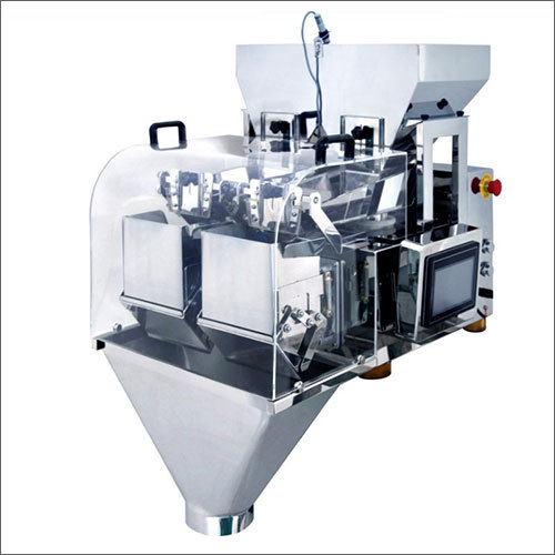 Two Head Weigher Packaging Machine
