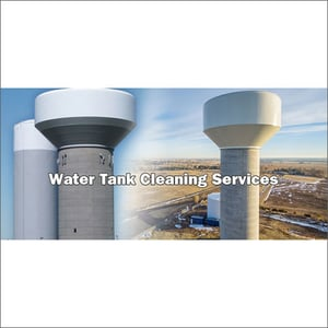 Industrial Overhead Tank Cleaning Services