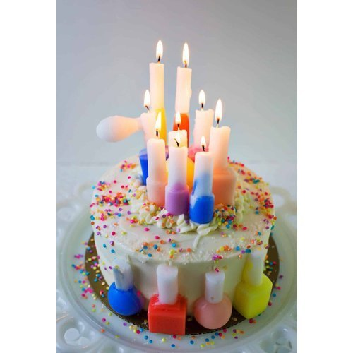 Birthday Candle Moulds