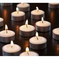 T Light Designer Candle Moulds