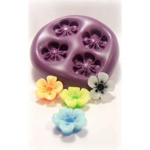 Wax Flower Candle Moulds