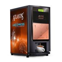 Atlantis Air Press Touchless Tea & Coffee Vending Machine 4 Lane