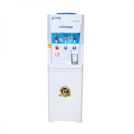 Atlantis Air Press Touchless Hot Normal and Cold Floor Standing Water Dispenser