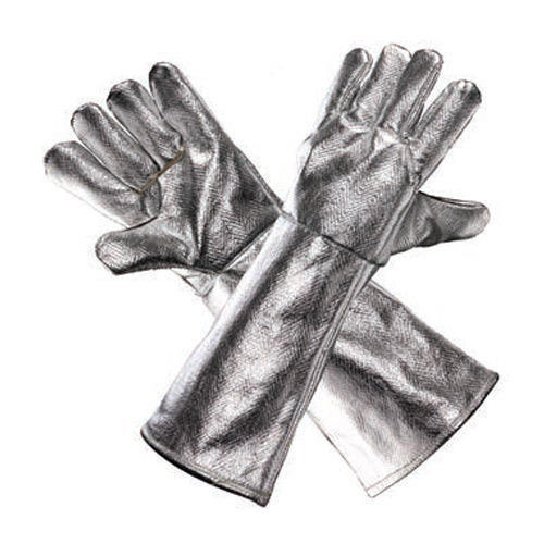 ALUMINIZED HEAT RESISTANT HAND GLOVES