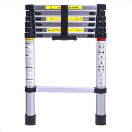 6.5 FT (2.0 Meter) Portable Aluminum Telescopic Extension Ladder with 7 Steps