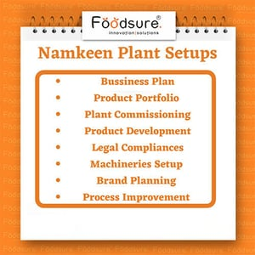 Namkeen Plant Setup Consultant