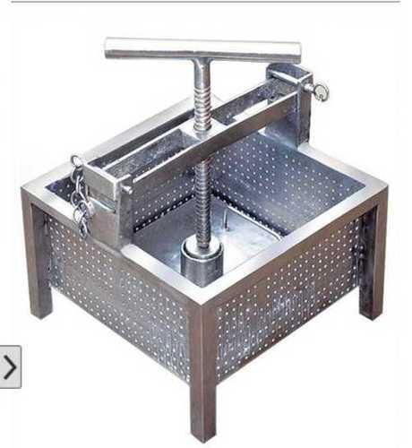 Paneer press machine - 5kg mould ss 202
