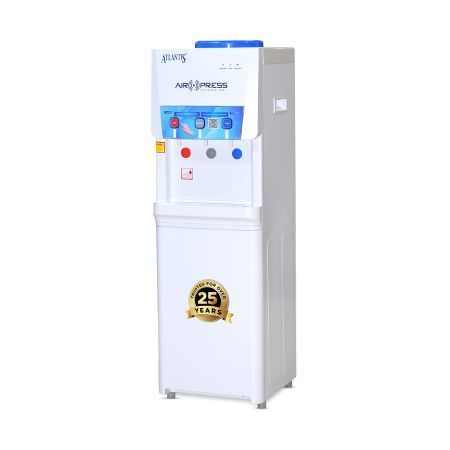 亚特兰提斯空气新闻Touchless热的正常和冷的地板常设水分配器