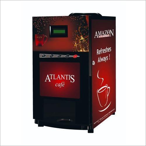 Atlantis Cafe Plus 3 Lane Tea and Coffee Vending Machine With Token Coin Operation