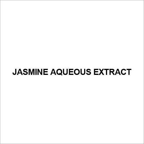 Jasmine Aqueous Extract