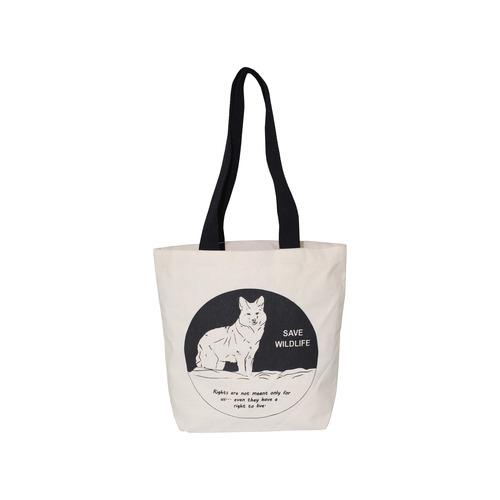 10 Oz Canvas Beach Bag With Cotton Web Handle
