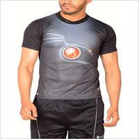 Mens Half Sleeve Synthetic T-Shirt