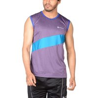 Mens Sleeve Less Synthetic T-Shirt