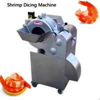 Automatic shrimp dicing machine shrimp cube cutting machine